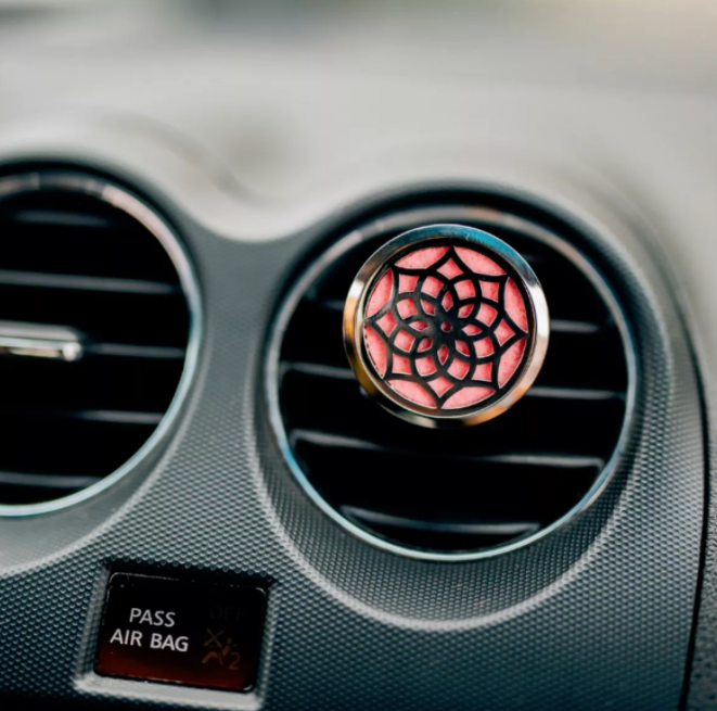 Stainless Steel Aromatherapy Vent Clip Car Diffuser ...