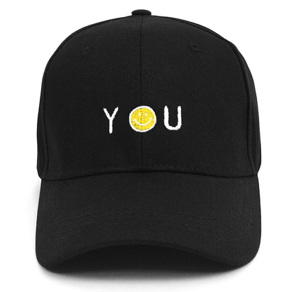 Smiley  You  Embroidered Baseball Cap