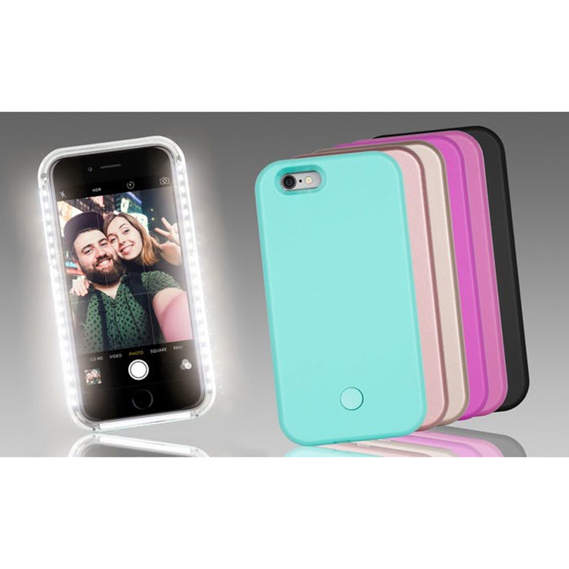 led iphone case led light up glowing phone cover for iphone bellechic 12566