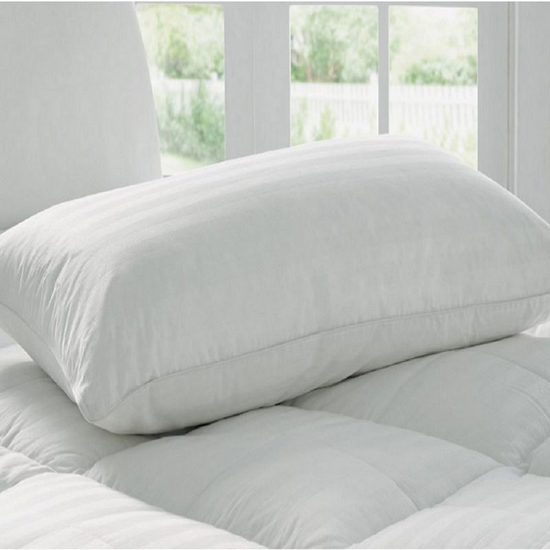 hypoallergenic goose down alternative pillow made in the usa tanga. Black Bedroom Furniture Sets. Home Design Ideas