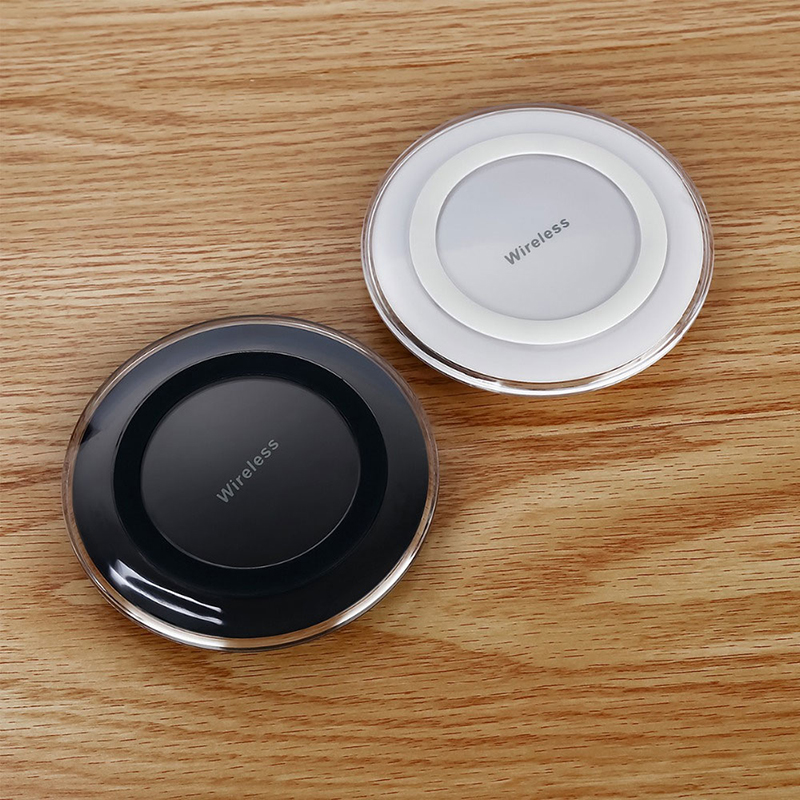 QI Wireless Charger Charging Pad for iPhone 8 8  X  amp  Samsung Devices