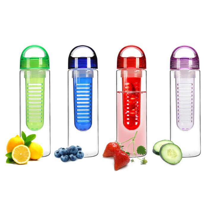 2-Pack Tritan Infuser Water Bottle
