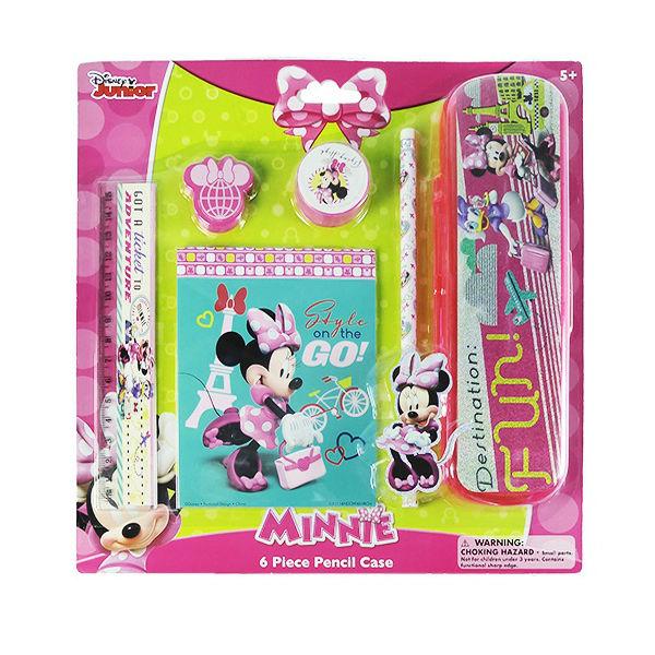 6-Piece Minnie s Bowtique Pencil Sets 9420065