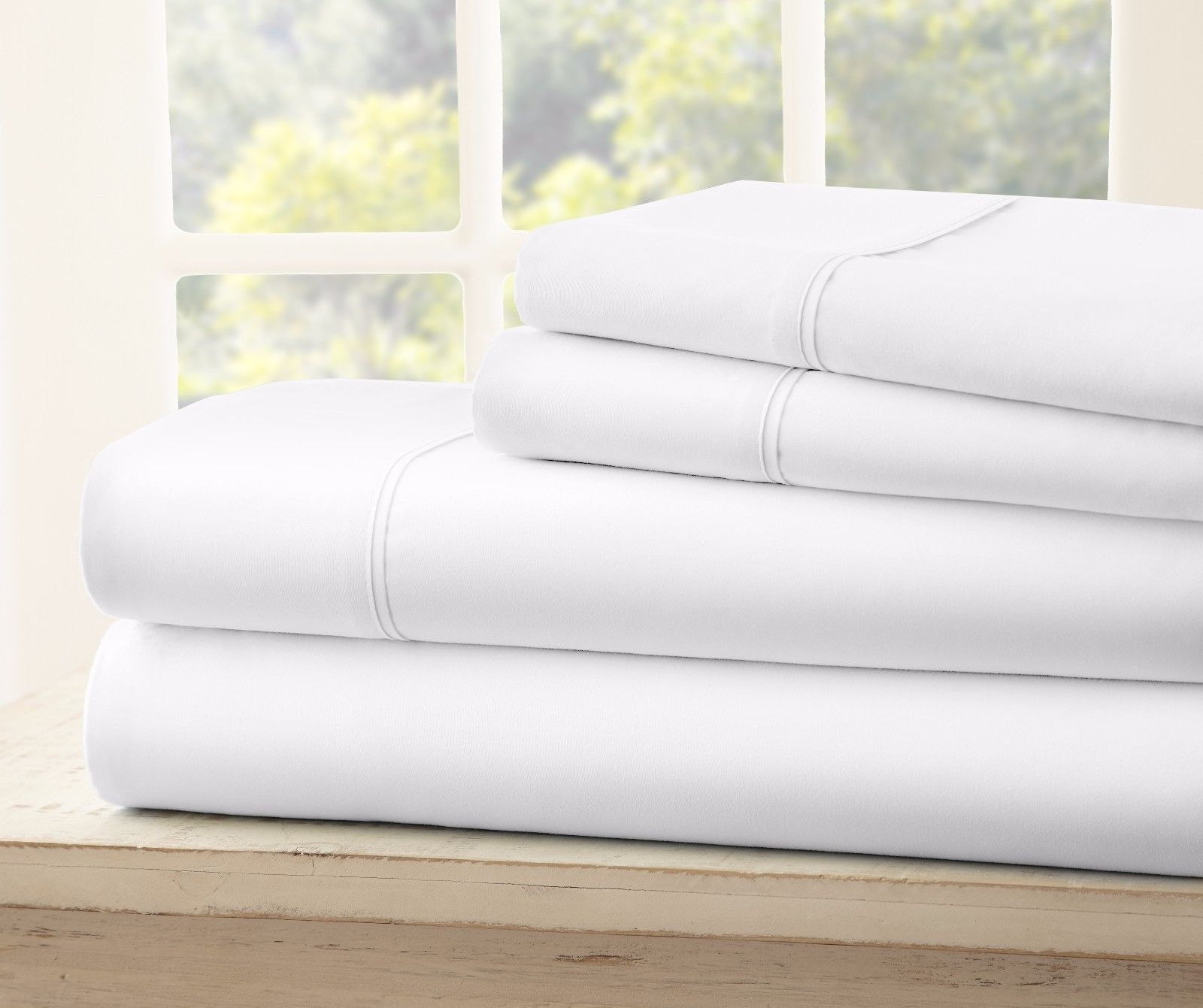 Luxury Ultra Soft 1800 Series 4 Piece Bamboo Bed Sheets