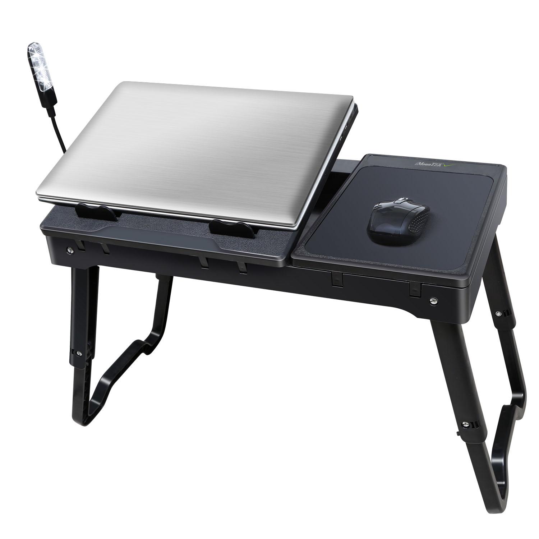 Imountek Portable Laptop Table Lap Desk With Laptop