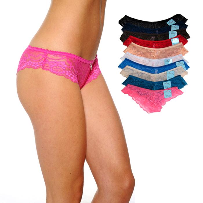 12-Pack Bikini Lace Panties 157230