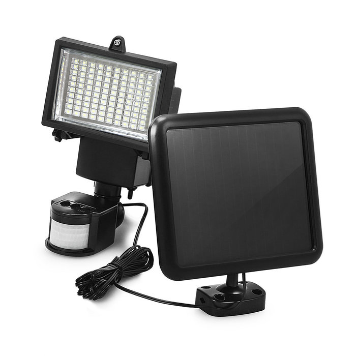 100 LED Super Ultra-Bright Motion-Sensing Wireless Solar Flood Light