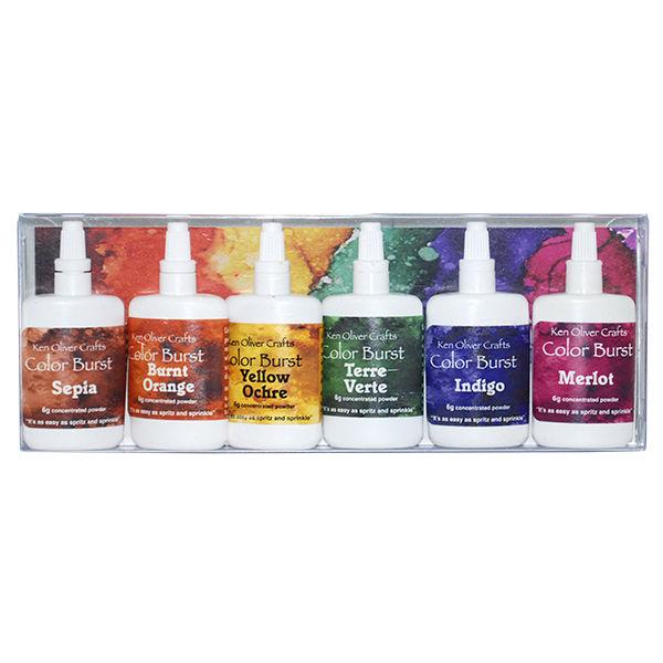 6-Pack Ken Oliver Color Burst Earth Tones Assortment