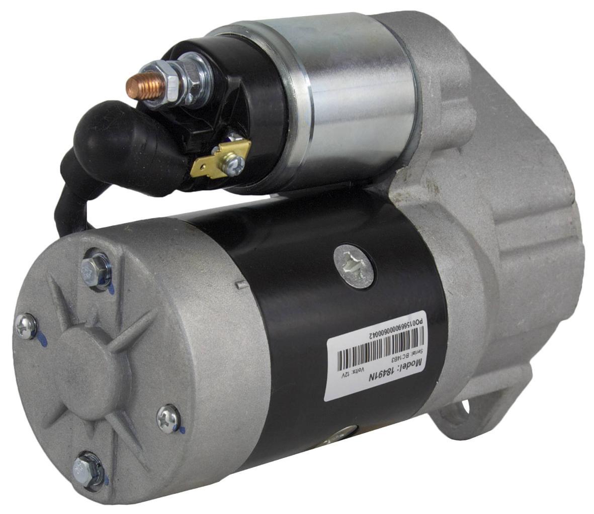 New starter fits 4tnv98 4tnv98t yanmar s13 204 129900 for Ingersoll rand air compressor motor starter