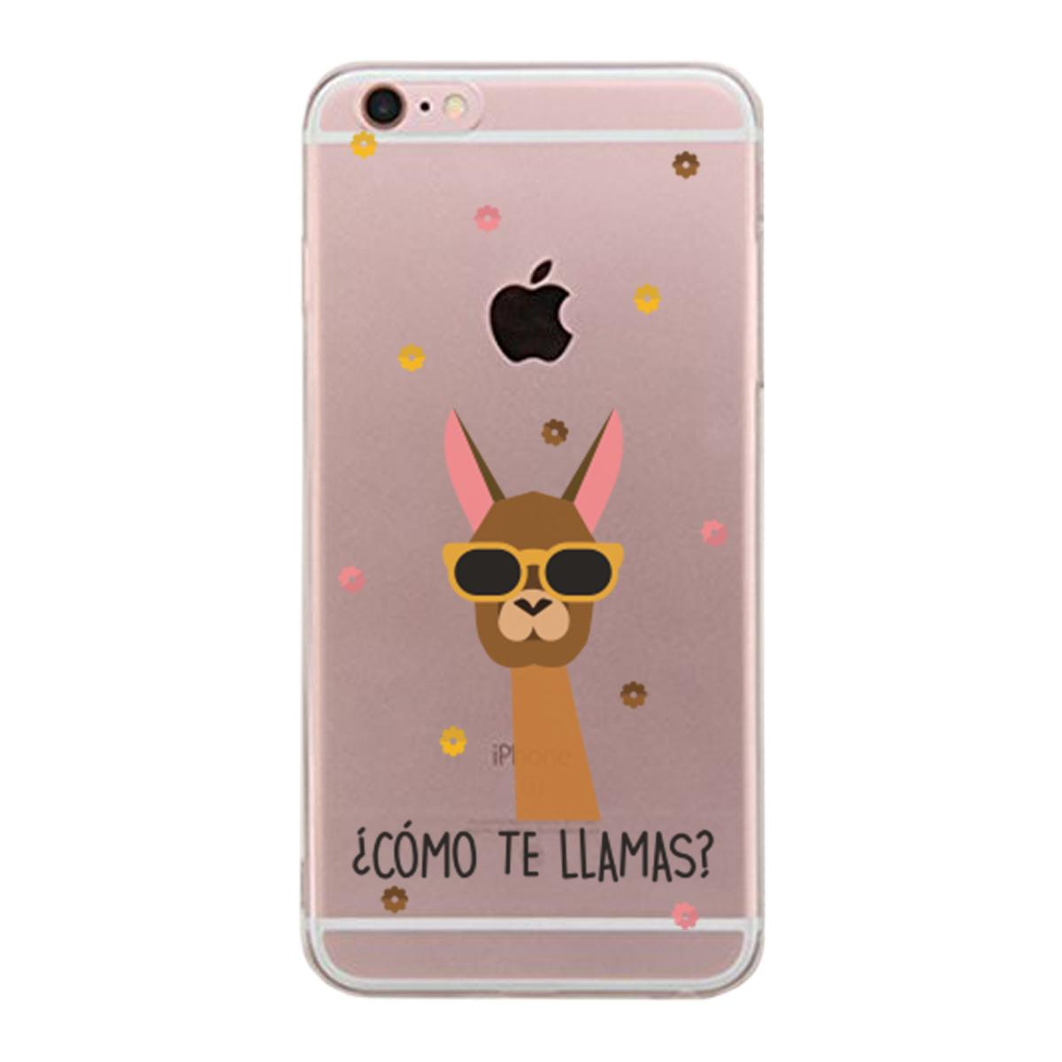 iPhone 6 6S Plus Clear Scratch Resistant Phonecase (Como Te Llamas)