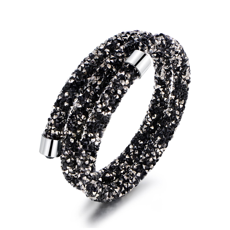 Crystaldust Double Wrap Bracelet - Choose Style