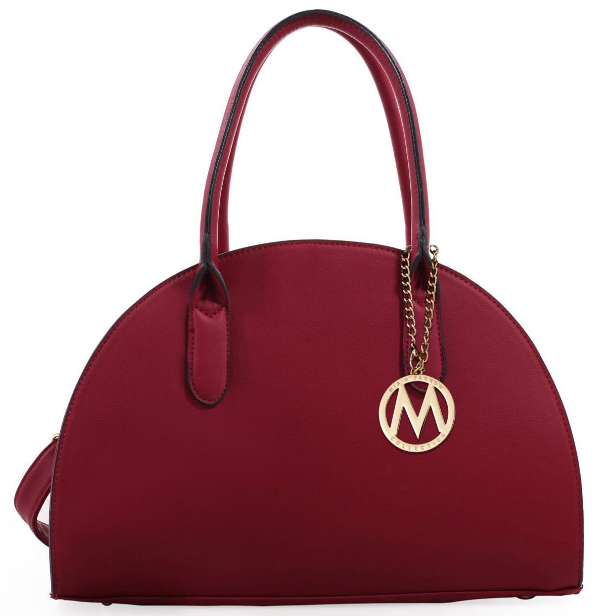 MKF Collection Half Moon Handbag by Mia K Farrow 3a0f5c35ed98