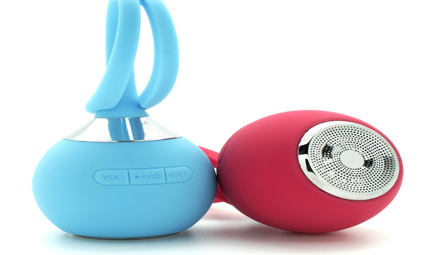 LED Waterproof Bluetooth Hanging Speaker - Assorted Colors