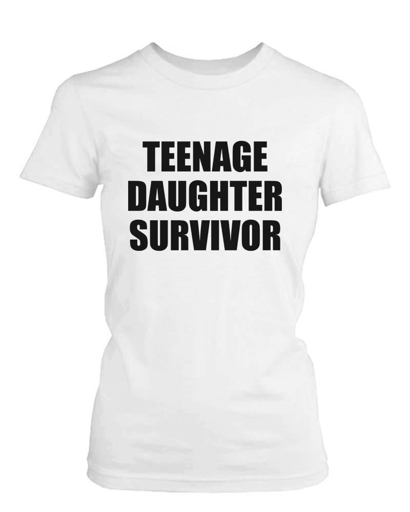 Teenage Daughter Survivor Graphic T-Shirt