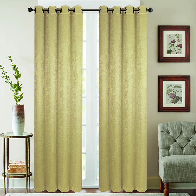 2-Pack 52  x 84  Energy Saving Blackout Window Curtain Panels