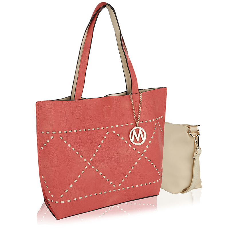 MKF Collection Delly Tote Shoulder Bag by Mia K. Farrow