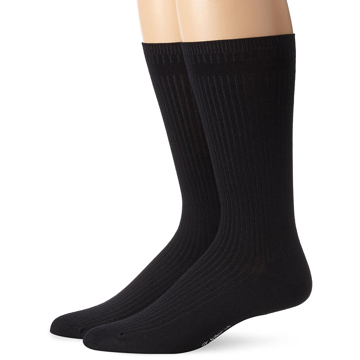 4-Pack Dr. Scholls Mens Careers Crew Dress Socks