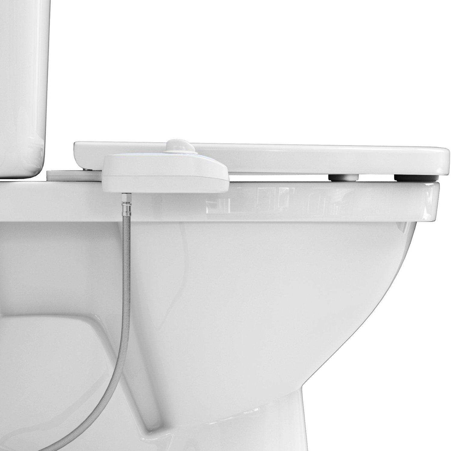 Fresh Water Bidet Toilet Seat Attachment W Self Cleaning