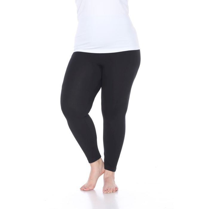 Women s Plus Size Super-Stretch Solid Leggings