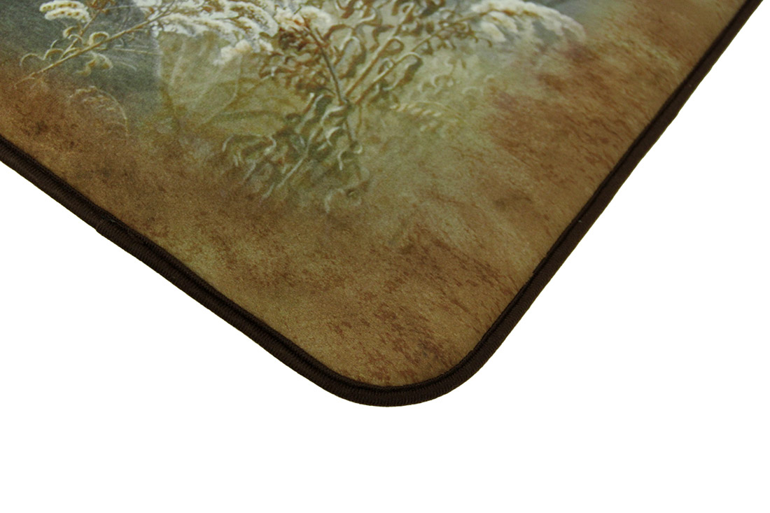 Microfiber Memory Foam Big Buck Whitetail Deer Floor