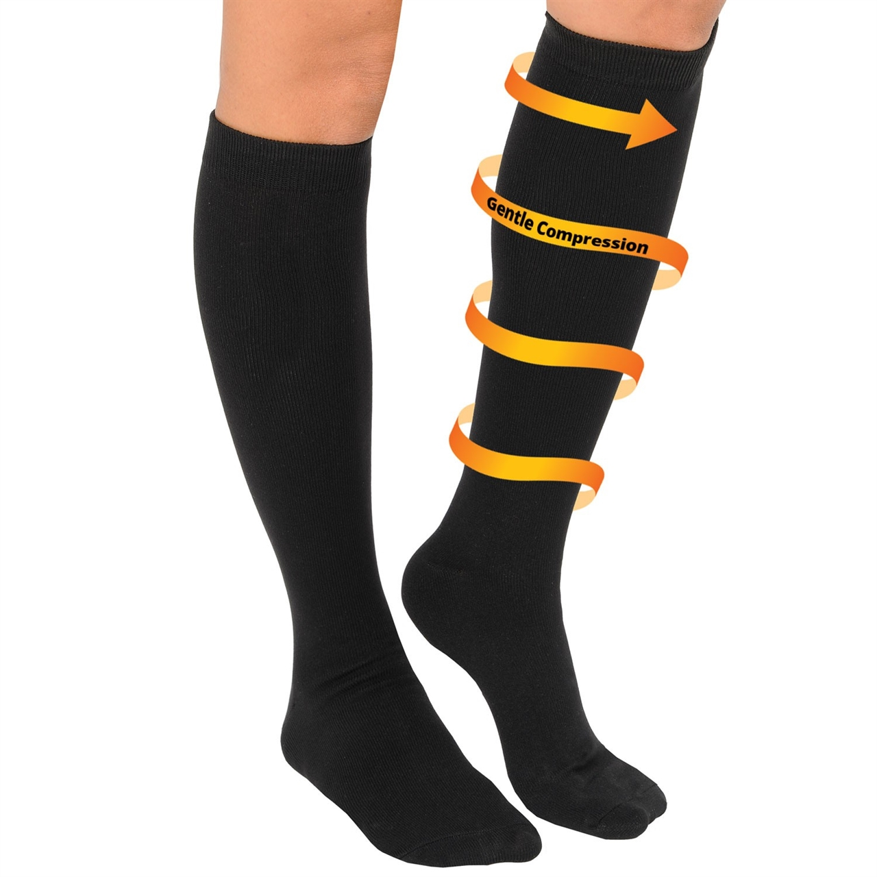 5 Pairs  All Day Relief Compression Socks