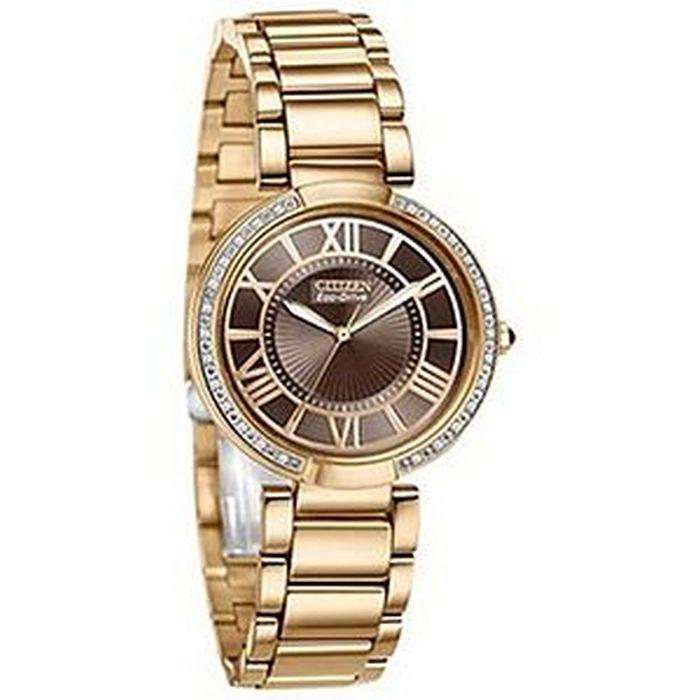 CITIZEN Women s Eco Drive D Orsay Diamond Watch EM0103-57X