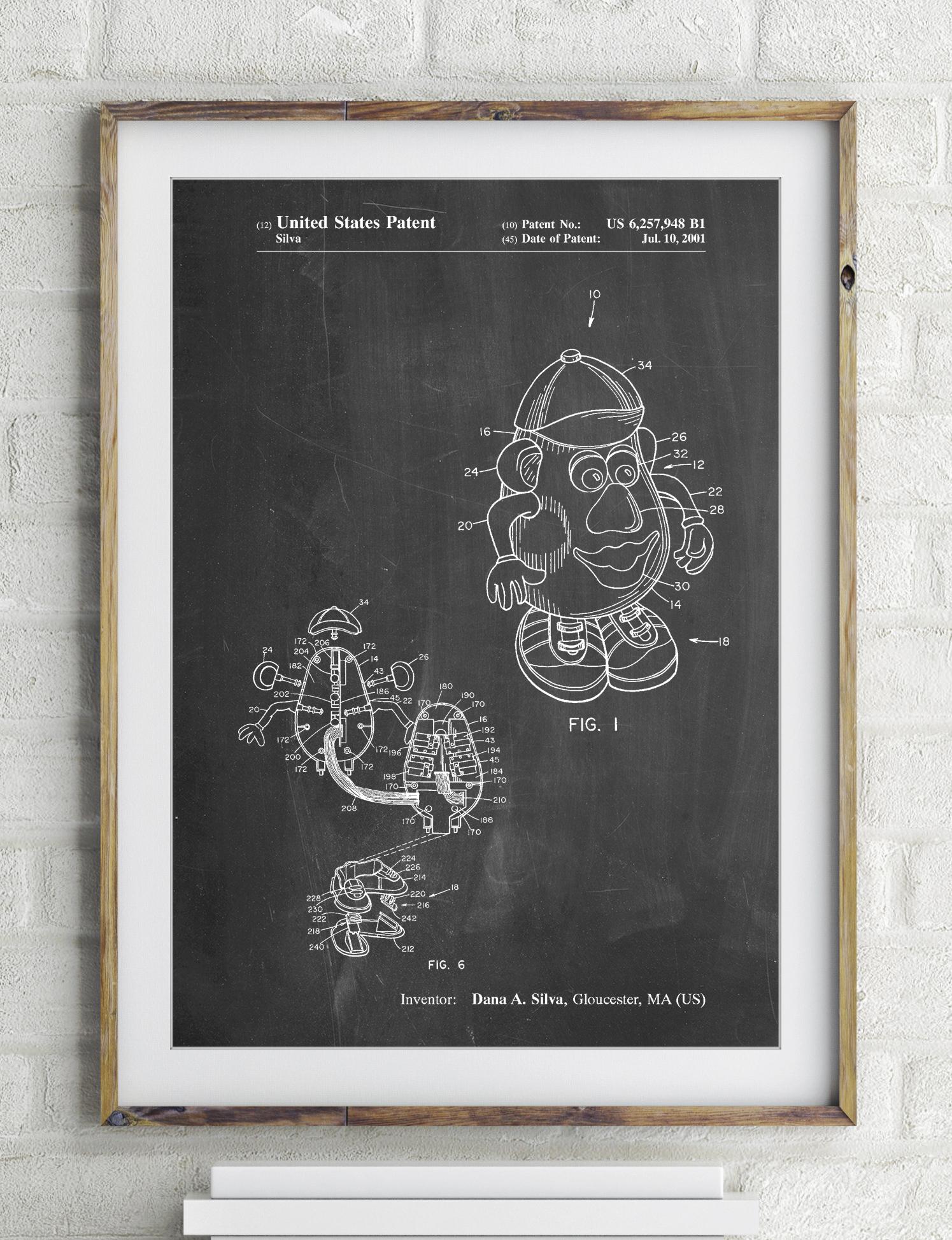 Potato Head Patent Poster 2365074