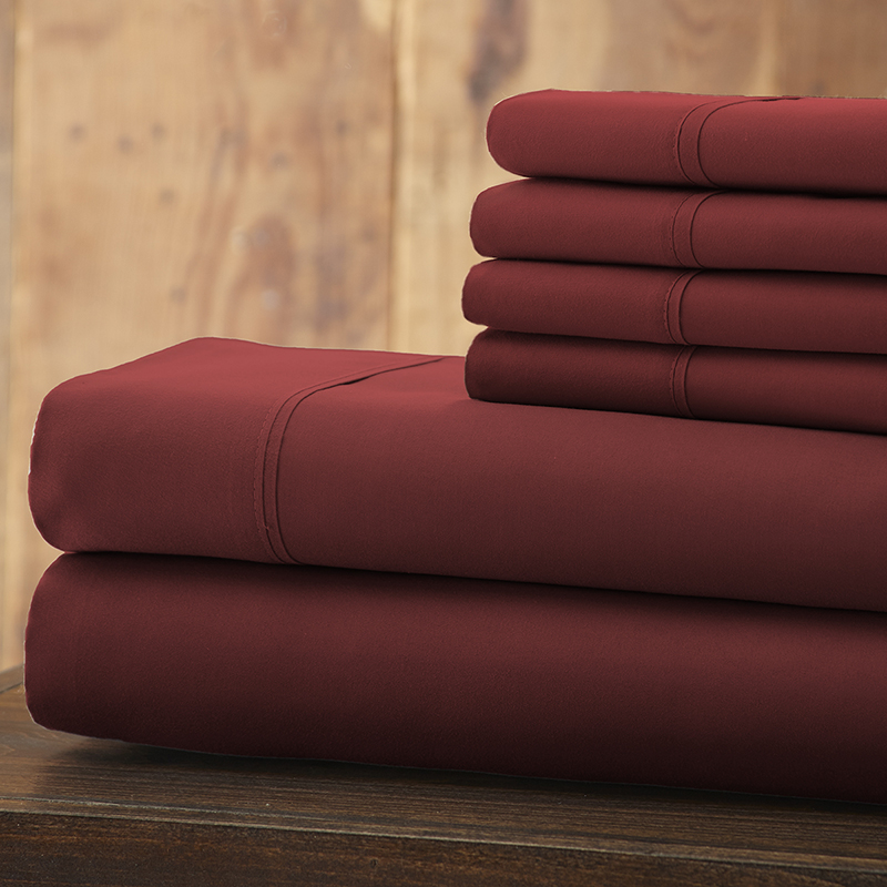 Hotel 5th Ave. 4-Piece 1800 Series Count Sheet Set