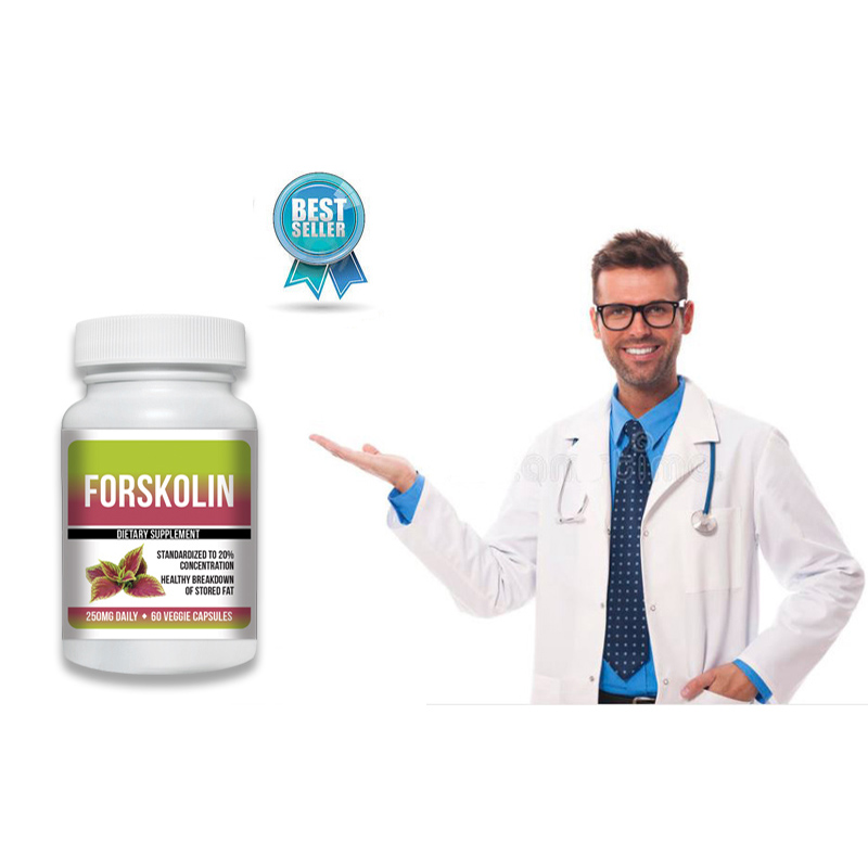Pure Forskolin Extract 20% Dr Recommended Weight Loss 3 oz - 1 Month S