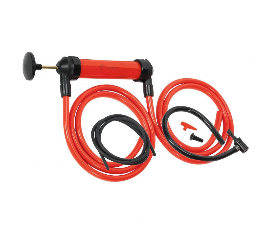 Zone Tech 3-in-1 Hand Siphon Pump, Gas Liquid  Air