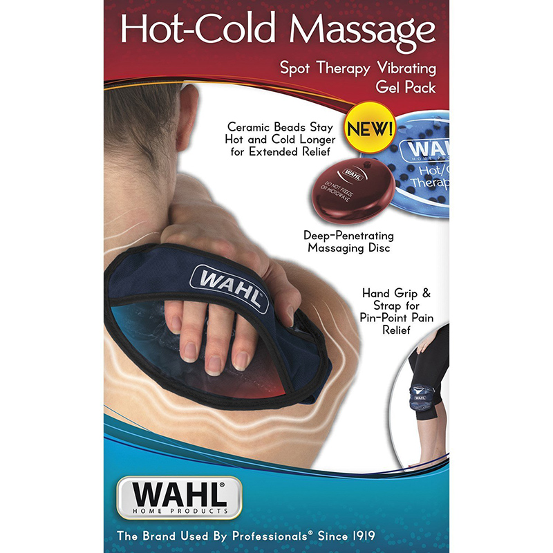 Wahl Hot-Cold Massage Spot Therapy Vibrating Gel Pack