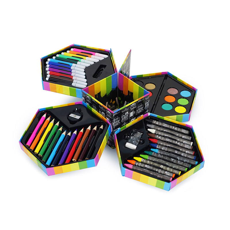 52-Piece Polaroid Art Set
