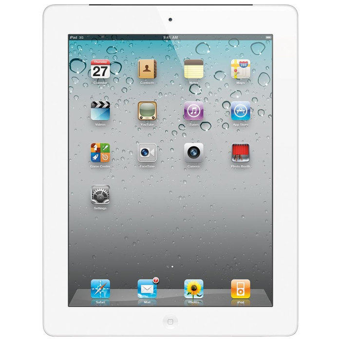 Apple iPad 2 MC979LL A, 16GB WiFi White (Grade B) 8c8ca36637fd