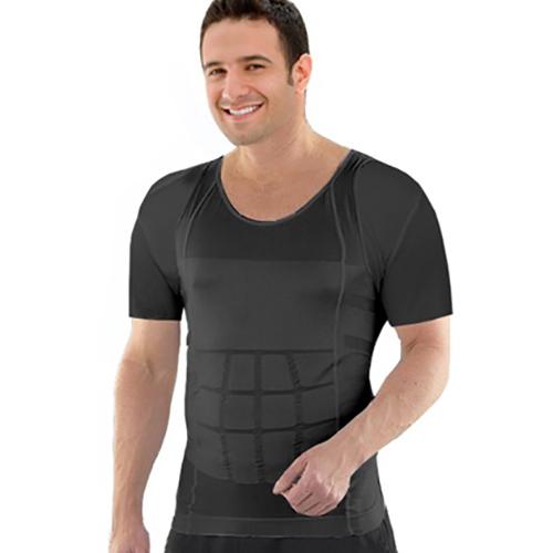 Insta Trim Compression  amp  Body-Support Undershirt