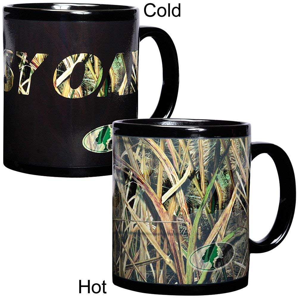 Havercamp Color Changing Mug by Mossy Oak Camouflage Duck Blades Patte