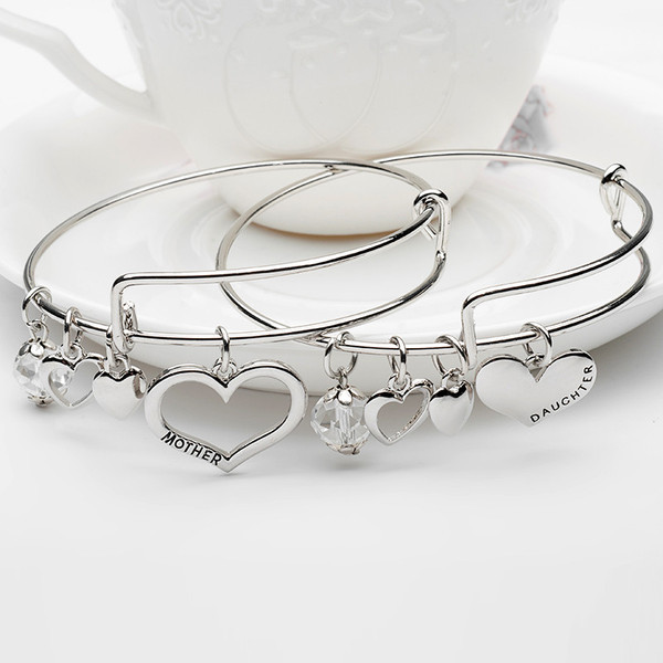 Mother  amp  Daughter Charm Bangles