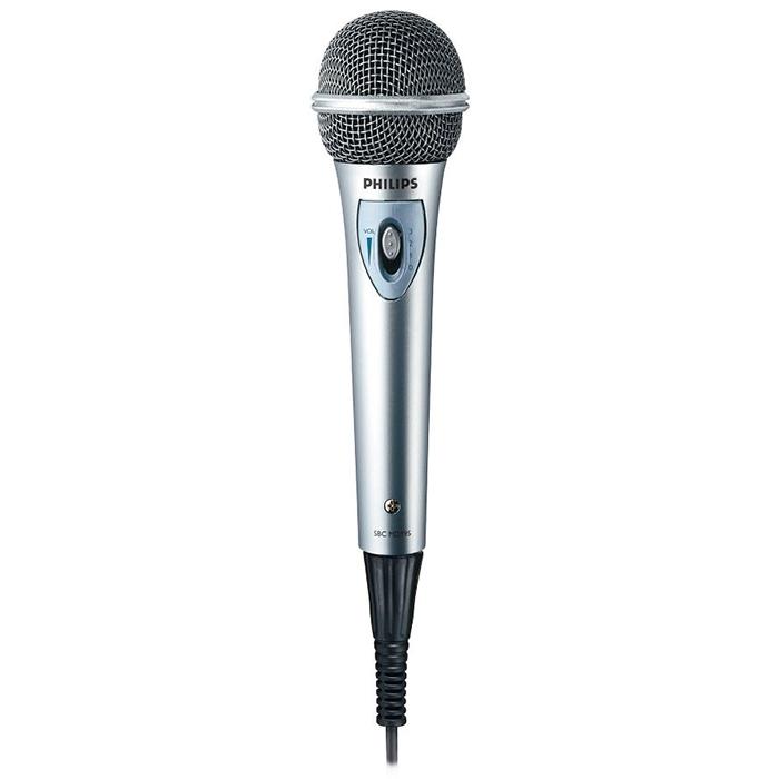philips microphone w   volume control