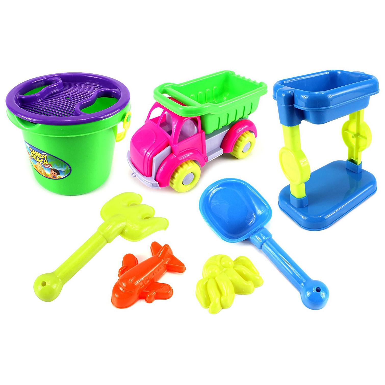 Sandy Beach Dump Truck Tower Children s Kid s Toy Beach Sandbox Playse