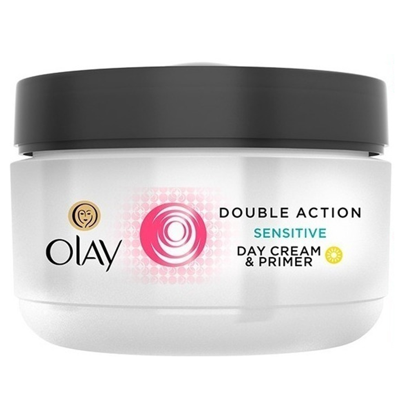 Olay Double Action Sensitive Day Cream  amp  Primer 50 ml (1.7 Oz) Unboxed
