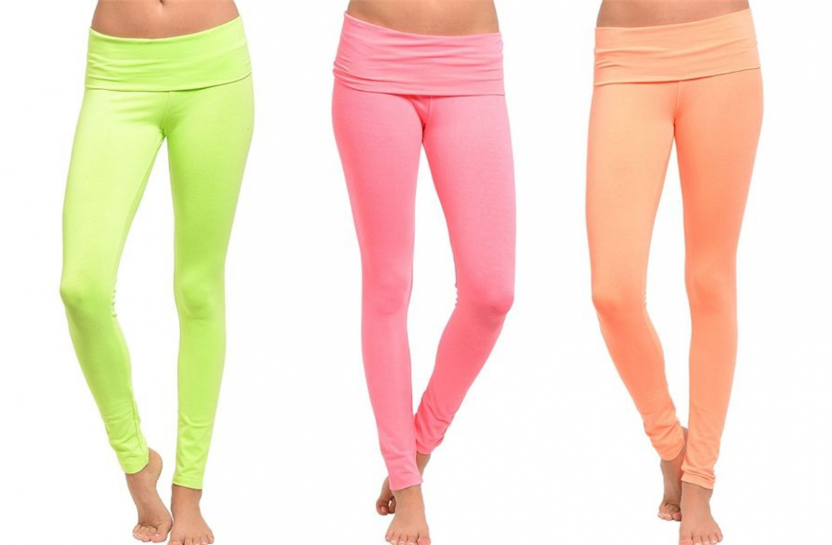 Neon Color Yoga Pants - 5 Colors cdf750530245