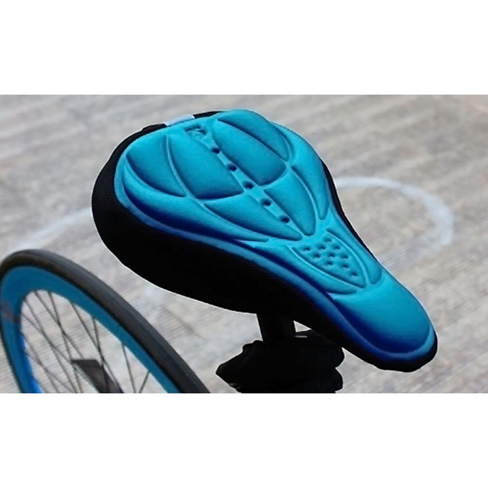 2 Pack  3D Neoprene Silicone Gel Bike Seat Cover be451a8fa8e8