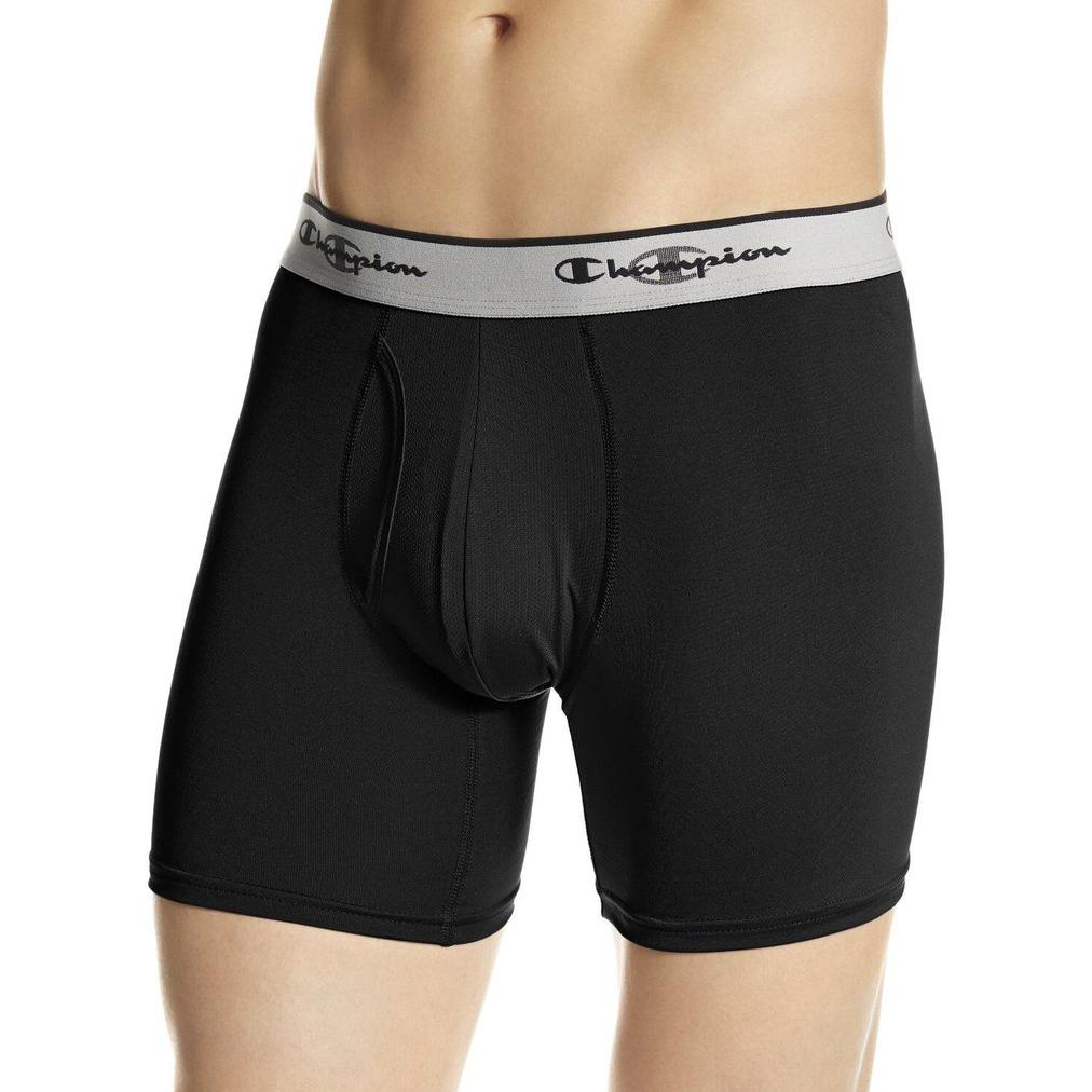6-Pack  Champion Men s Double Dry Activefit Boxer Brief 797994cc230c