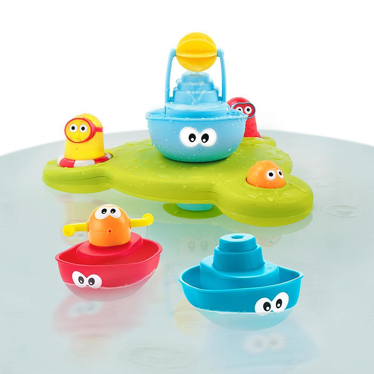 Yookidoo Stack N\' Spray Bathtub Water Fountain Boat Propeller ...