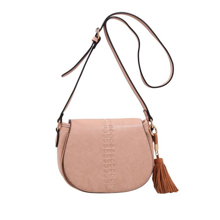 MKF Collection Rebecca Tassle Saddle Bag