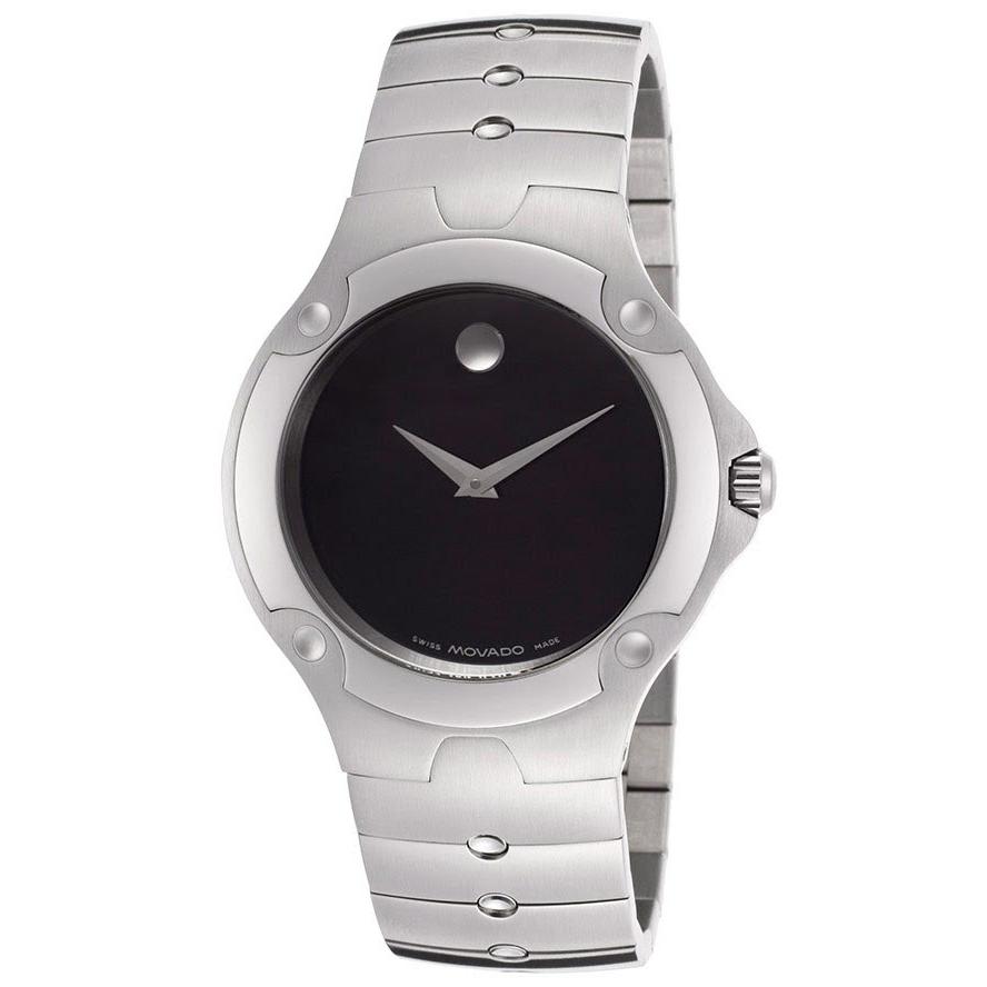 Movado Men s Museum Sports Edition Watch Black Dial 604458