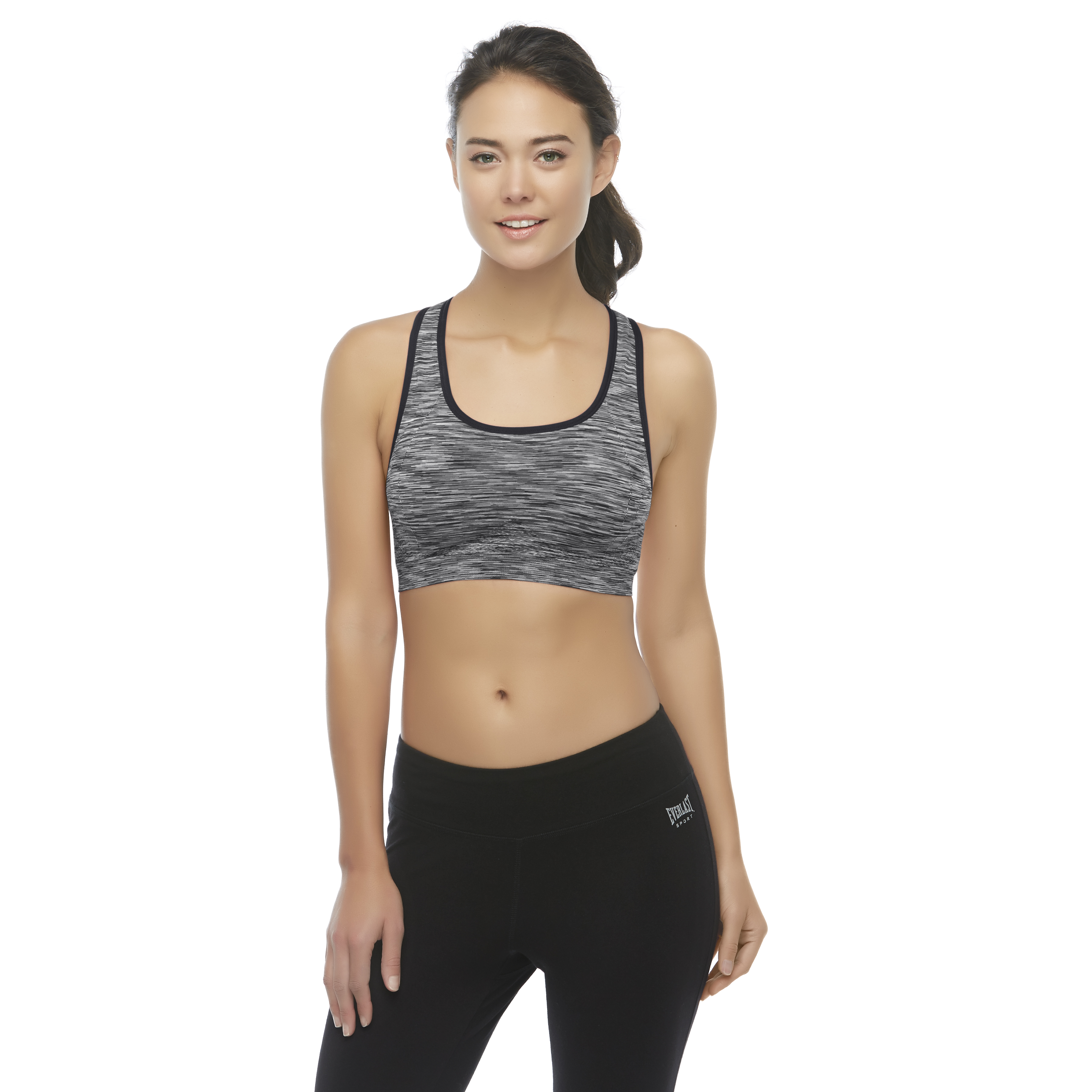 Everlast Space Dyed Seamless Padded Sports Bra 5398938