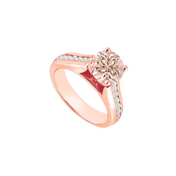 Pastel Pink Morganite With Cz Accents Engagement Ring 14k. 4 Birthstone Rings. Diamond Band Rings. Oxford Rings. Plain Gold Rings. Fraternity Rings. Top Rated Engagement Rings. Party Rings. Geeky Wedding Rings