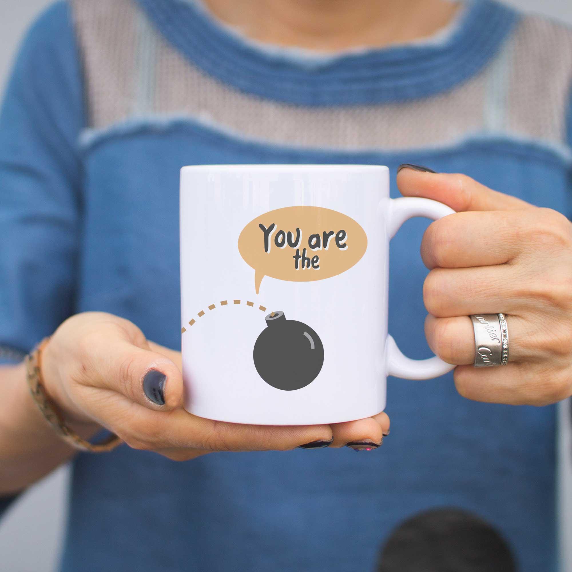 Mom You Are The Bomb Cute Coffee Mug Cup 016a8c72e19b