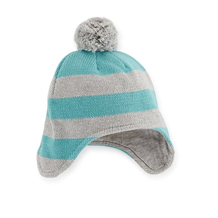 Carter s Baby Boys Striped Trapper Hat (0-3 Months)