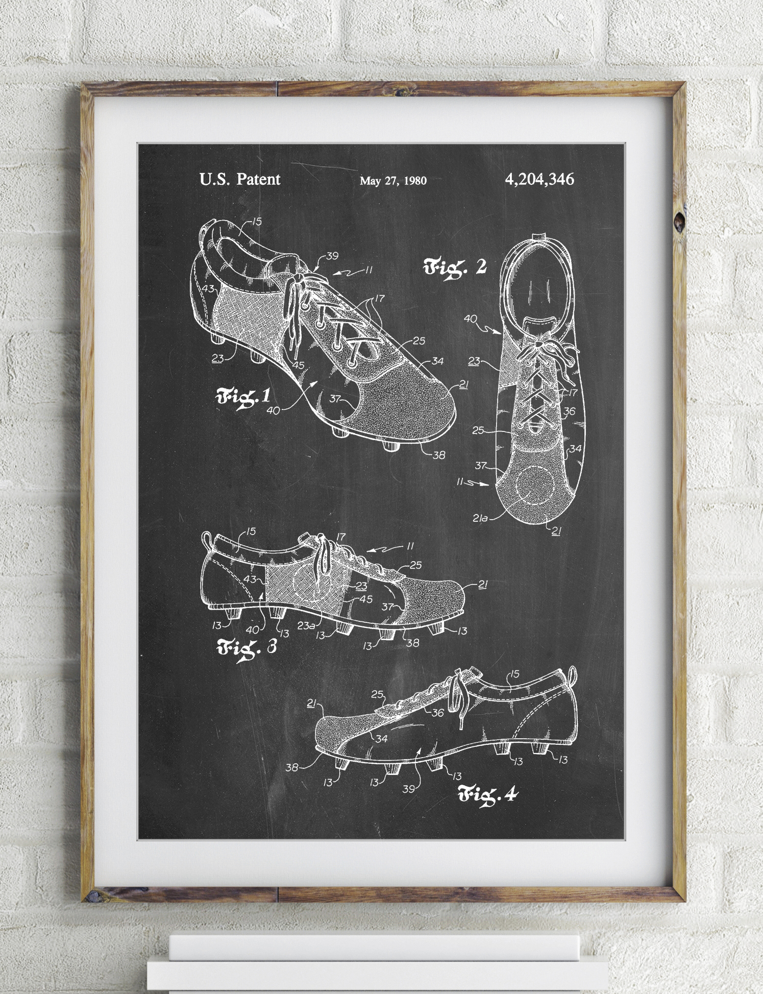 Soccer Cleats Poster